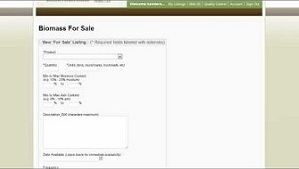 Creating Biomass Listings Demo